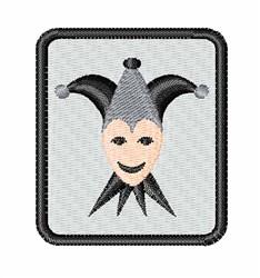Black Joker embroidery design