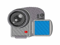 Video Camera embroidery design