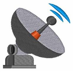 Satellite Antenna embroidery design