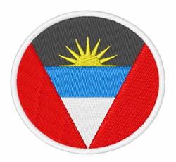 Antigua & Barbuda Flag embroidery design