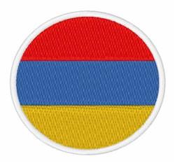 Armenia Flag embroidery design