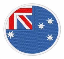 Australia Flag embroidery design