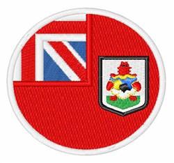 Bermuda Flag embroidery design