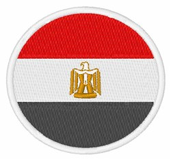 Egypt Flag embroidery design