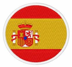 Spain Flag embroidery design