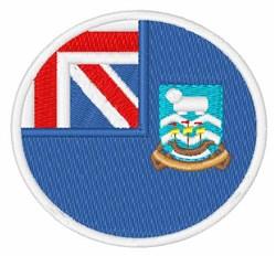 Falkland Islands Flag embroidery design
