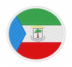 Equatorial Guinea Flag embroidery design