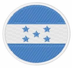 Honduras Flag embroidery design