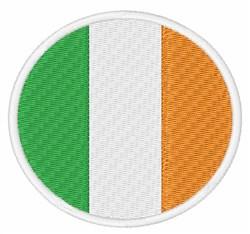 Ireland Flag embroidery design