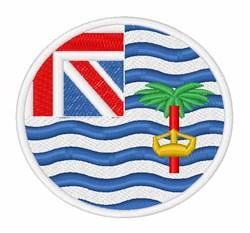British Indian Ocean Territory Flag embroidery design