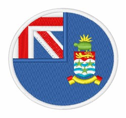 Cayman Islands Flag embroidery design