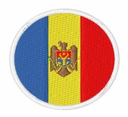Moldova Flag embroidery design