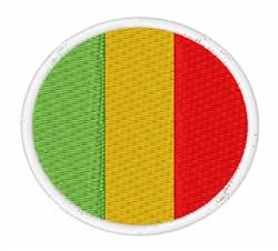 Mali Flag embroidery design