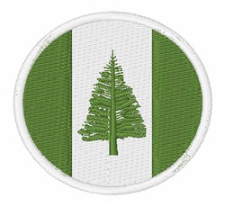 Norfolk Island Flag embroidery design