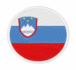 Slovenia Flag embroidery design