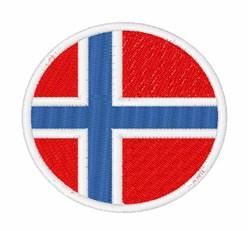 Svalbard And Jan Mayen Flag embroidery design