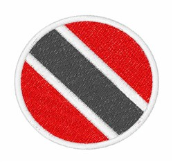 Trinidad And Tobago Flag embroidery design