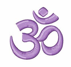 Om Symbol embroidery design