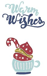 Warm Wishes embroidery design
