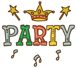 Party King embroidery design