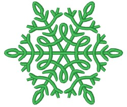 Winter Snowflake embroidery design
