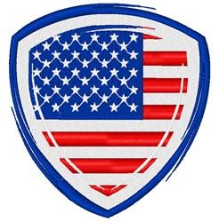USA Shield embroidery design