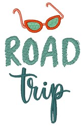 Road Trip embroidery design