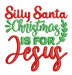 Christmas For Jesus embroidery design