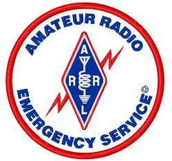 Amateur Radio Emergency Service embroidery design