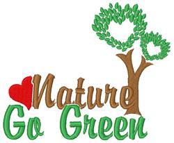 Love Nature embroidery design