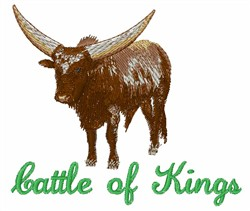 Cattle Of Kings embroidery design