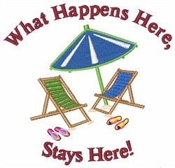 Stays Here embroidery design