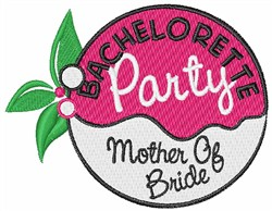 Mother Of Bride embroidery design