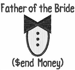 Send Money embroidery design