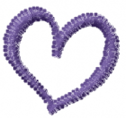 Love Curls Lowercase O embroidery design