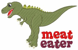 Meat Eater embroidery design