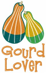 Gourd Lover embroidery design