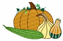 Gourds embroidery design