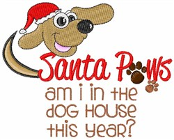 The Dog House embroidery design