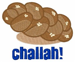 Challah embroidery design