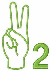 Sign Language  2 embroidery design