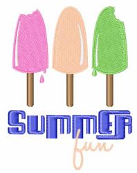 Summer Fun embroidery design