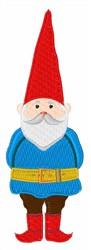 Gnome embroidery design
