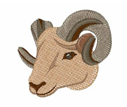 Ram embroidery design