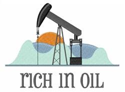 Rich In Oil embroidery design
