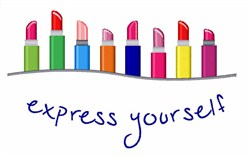 Express Yourself Border embroidery design