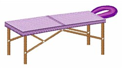 Massage Table embroidery design
