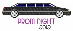 Prom Night Limo embroidery design