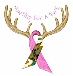 For A Cure embroidery design