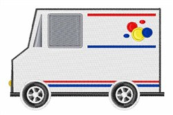 Bread Truck embroidery design